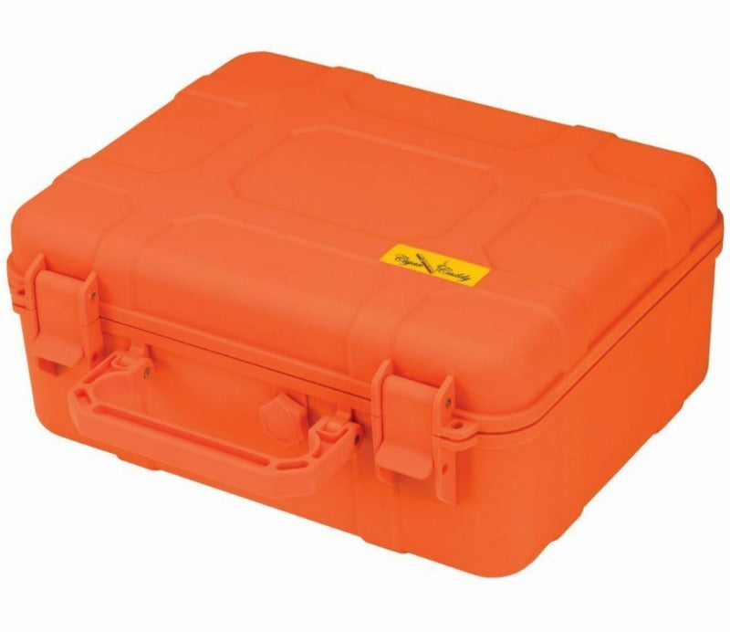 Travel Humidor Orange Cigar Caddy 40ct