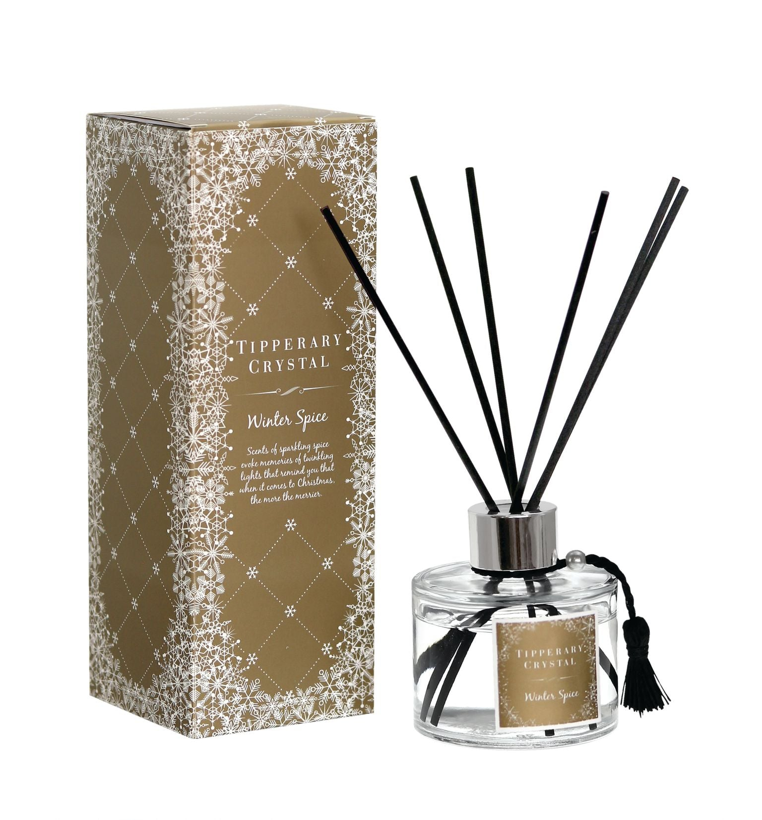 Tipperary Crystal Winter Spice Fragrance Diffuser