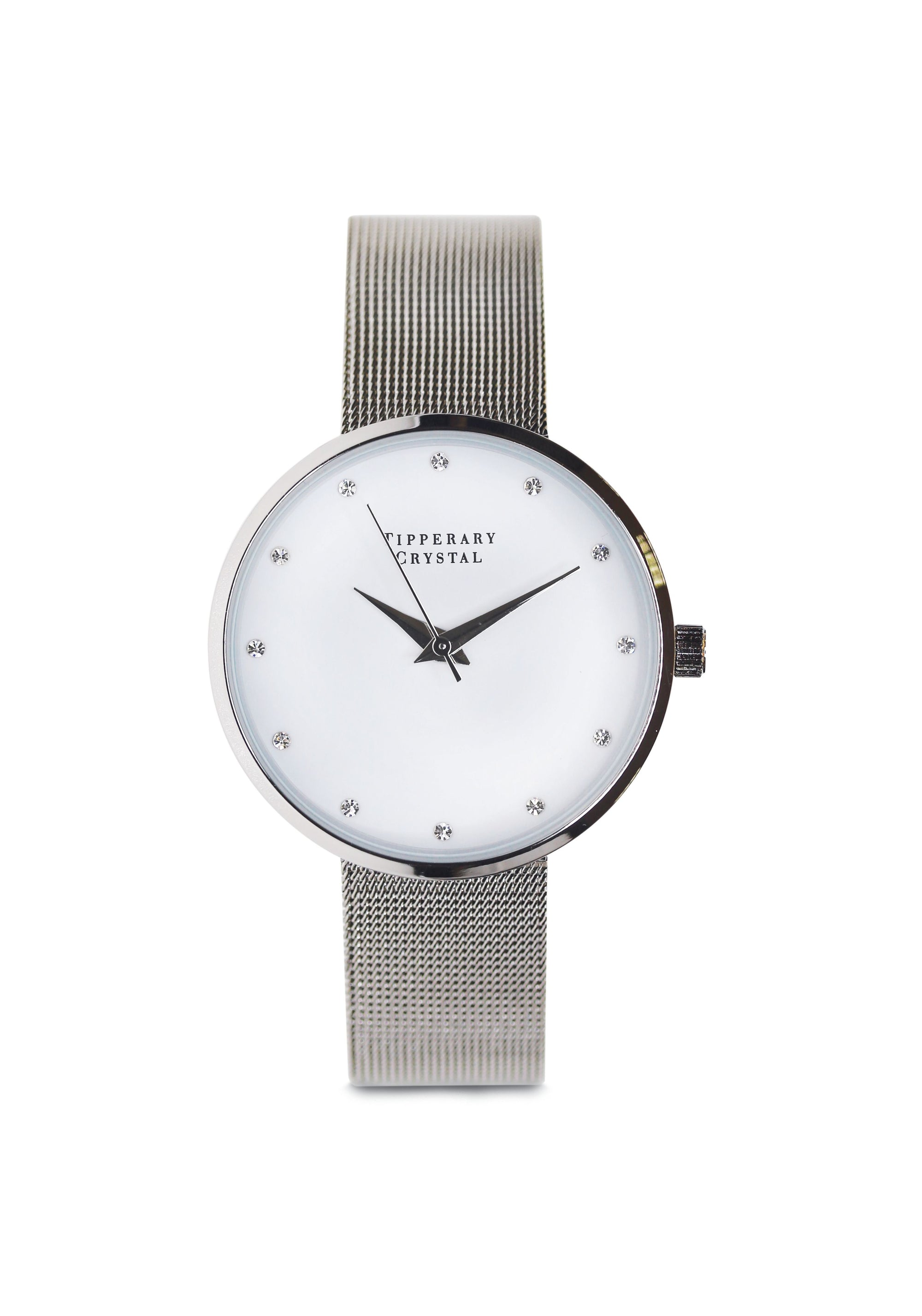 Tipperary Crystal Ultimo Silver Watch