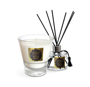 Tipperary Crystal Candle And Diffuser Set Christmas Memories