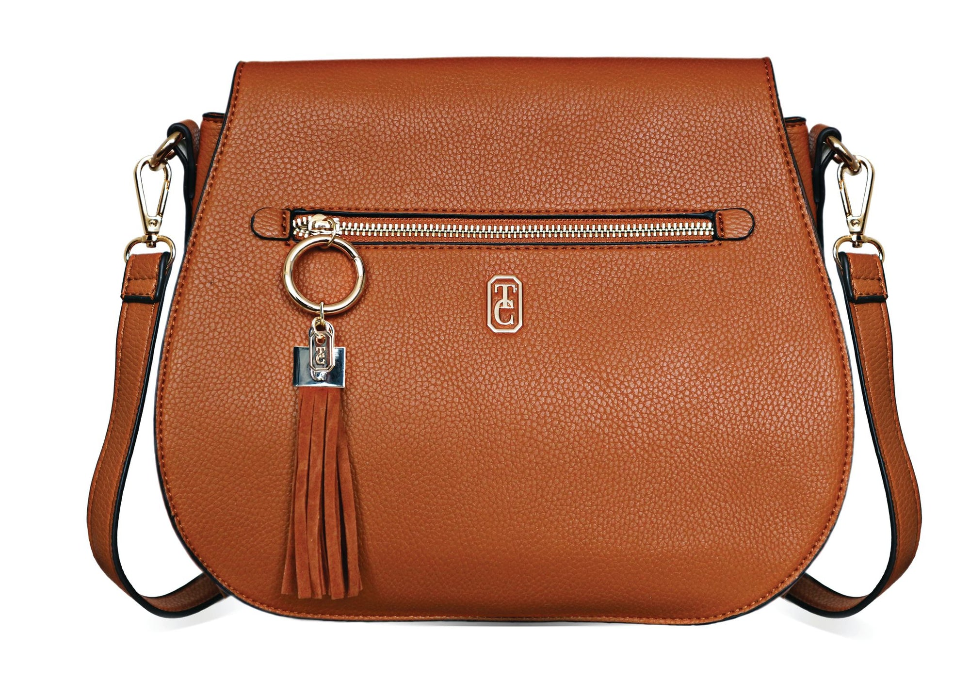 Tipperary Crystal Brown Satchel Bag