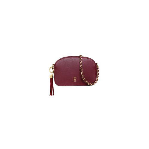 Tipperary Crystal Cannes Shoulder Burgundy Bag