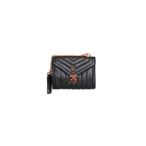 Tipperary Crystal Oxford Shoulder Bag Black