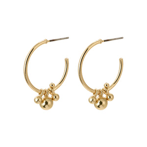 Pilgrim Jewellery Earth Gold Plated Earring