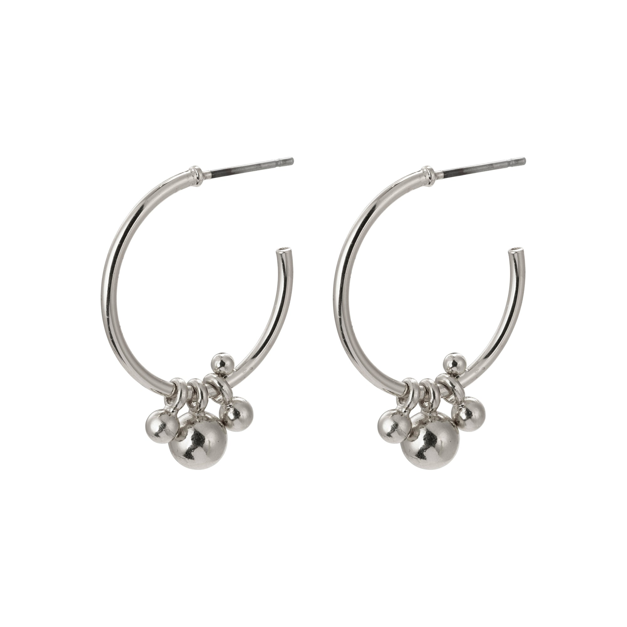 Pilgrim Jewellery Earth Silver Plated Earring