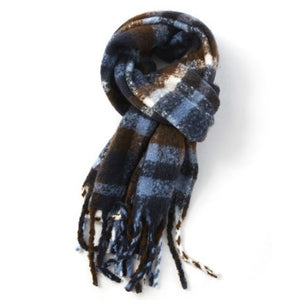Pure Accessories Scarf Navy Mix