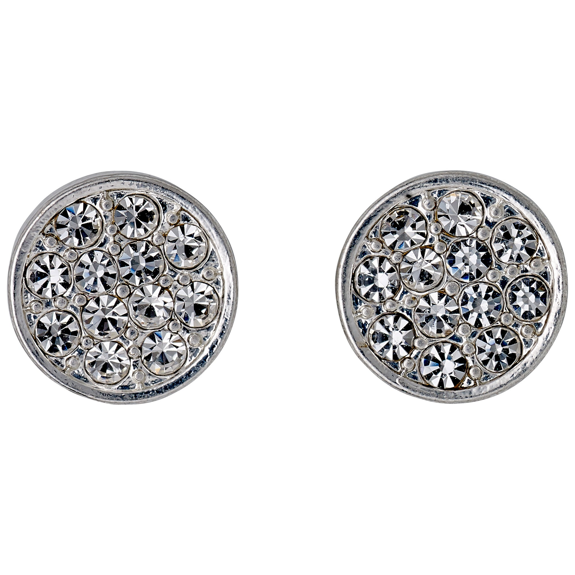 Pilgrim Jewellery Grace Silver Plated Earrings