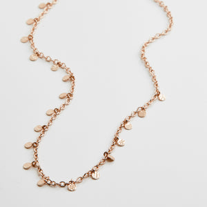 Pilgrim Jewellery Necklace Panna Rose Gold