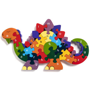 Alphabet Jigsaws Alphabet Dinosaur