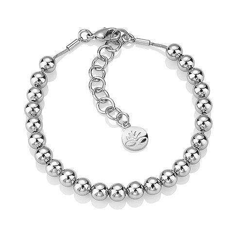 Newbridge Silverware Ti Amo Beaded Bracelet SL