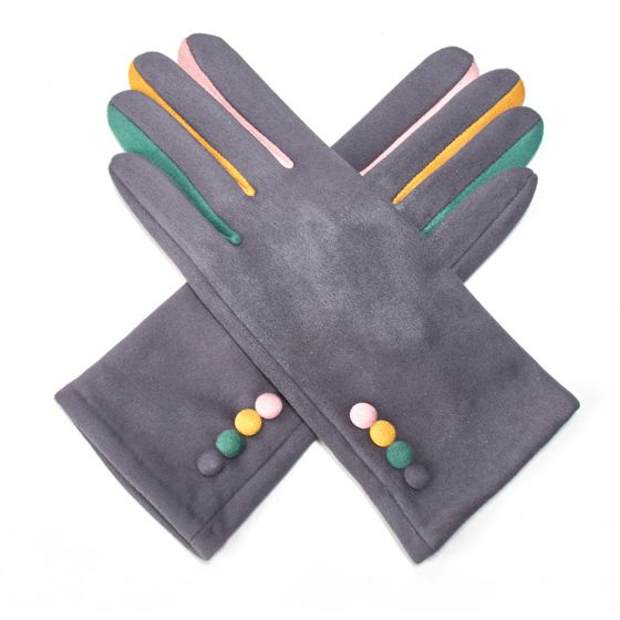 Pure Accessories Gloves Grey