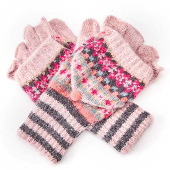 Pure Accessories Wool  Gloves Pink