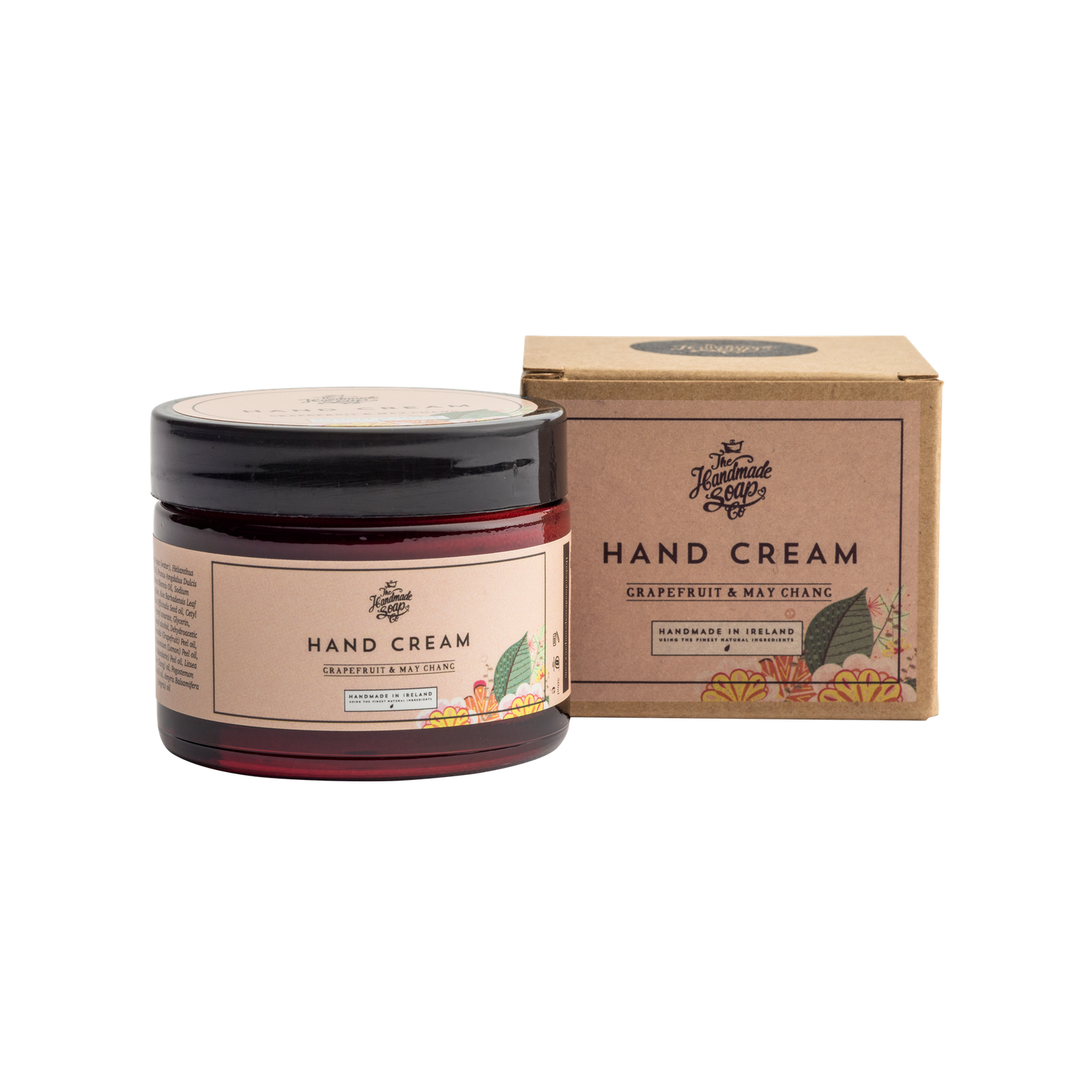 The Handmade Soap Company Grapefruit and May Chang Hand Cream 50g