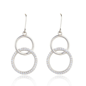 Knight & Day Silver Earring