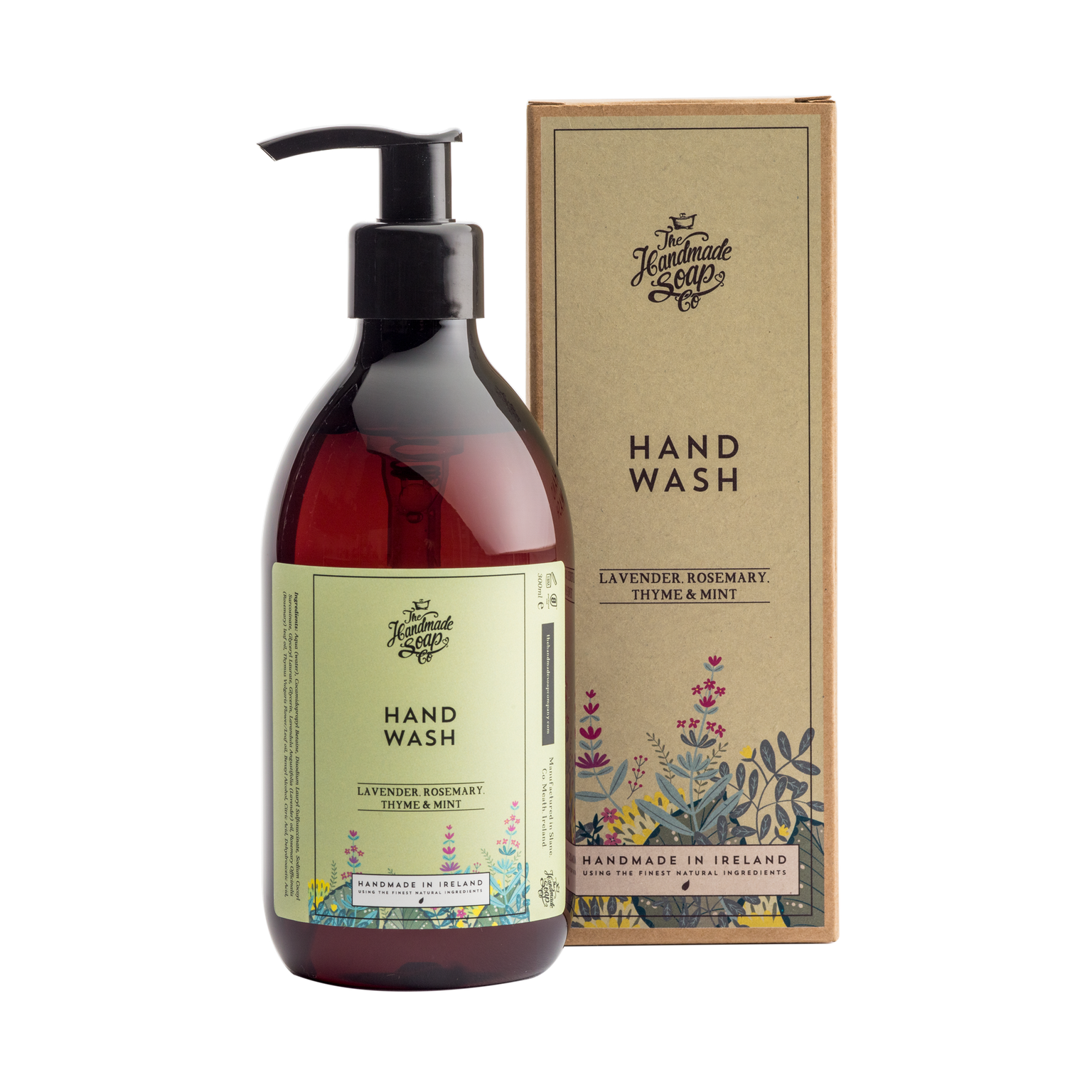 The Handmade Soap Company Lavender, Rosemary and Mint Hand Wash (300ml)