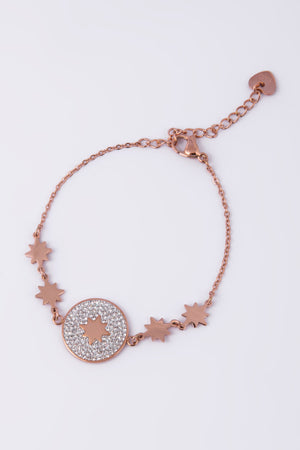 Knight & Day Rose Gold Bracelet