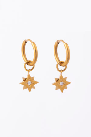 Knight & Day Gold Earring