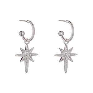Knight & Day Earring Silver
