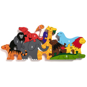 Alphabet Jigsaws Alphabet Number Zoo