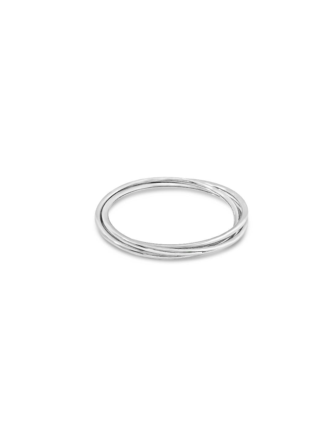 Absolute Jewellery Silver Ring Bangle-Sale
