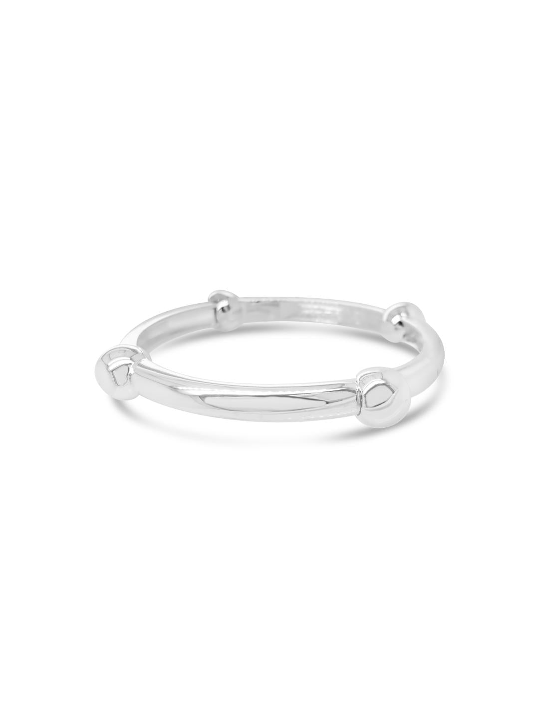 Absolute Jewellery Silver Bangle-Sale