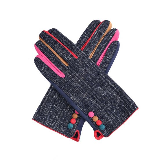 Pure Accessories Gloves Navy Mix