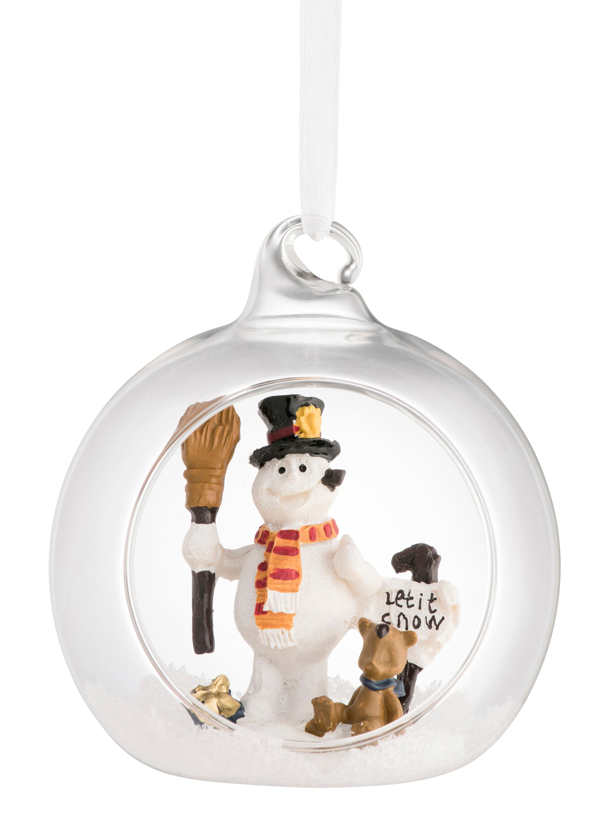 Galway Crystal Let it Snow Hanging Decoration