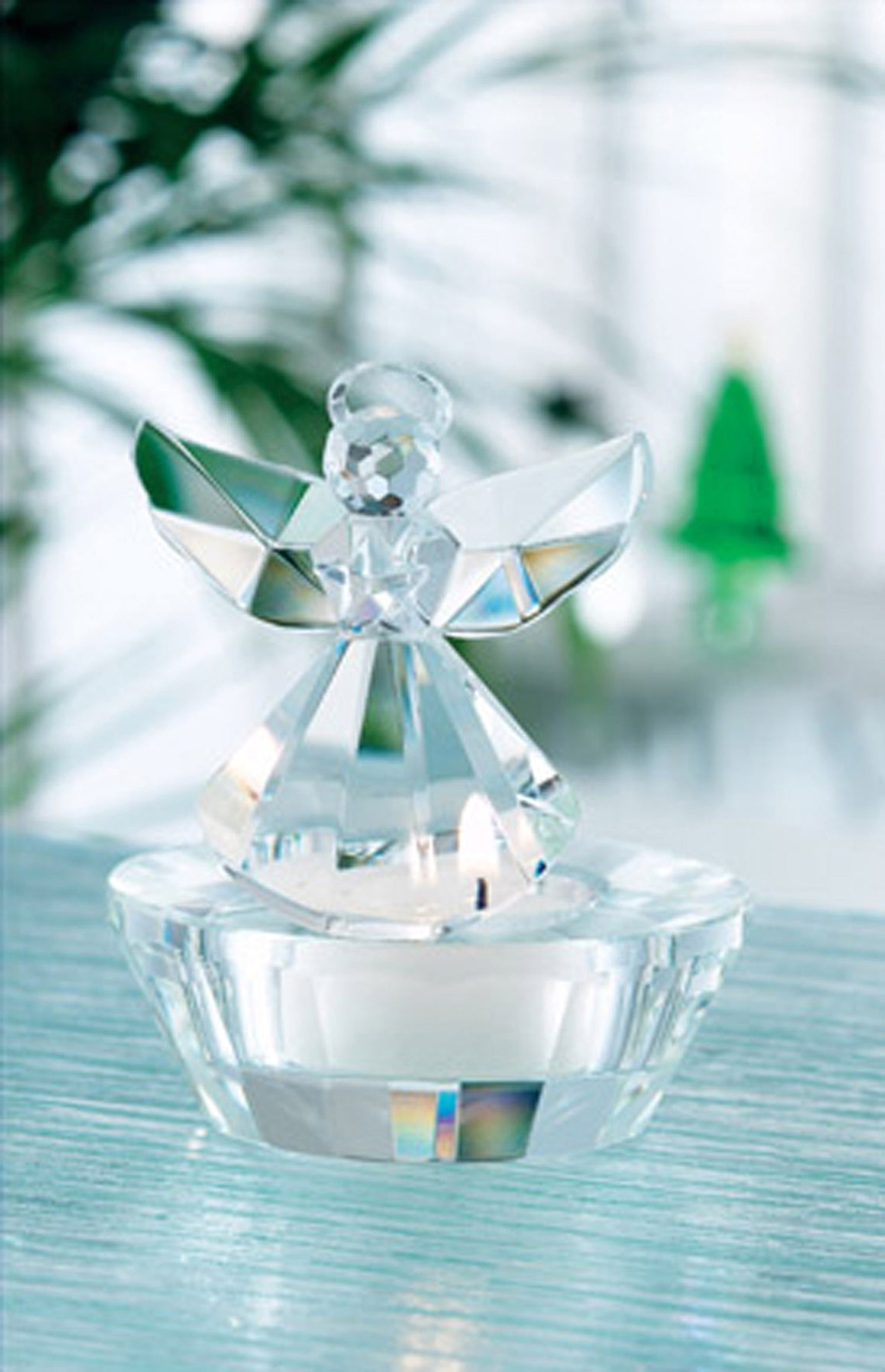 Galway Crystal Ice Angel Votive