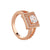 Knight &Day S/8 Rose Gold Ring
