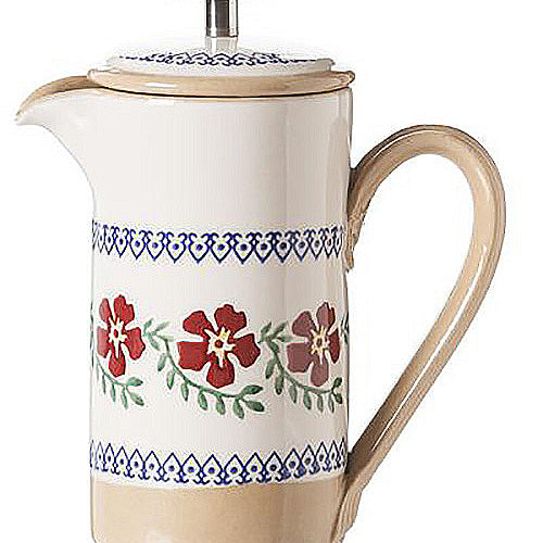 Nicholas Mosse Old Rose Small Cafetiere Coffee Pot
