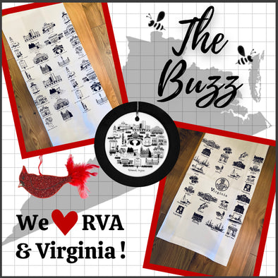 Newly added Richmond & Virginia decor available now!