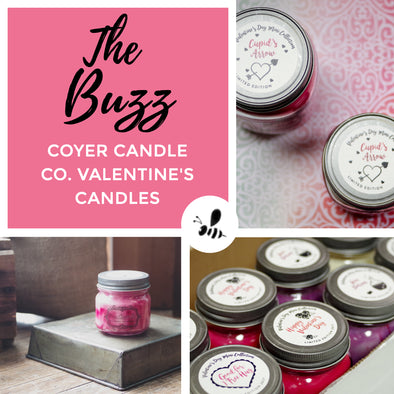 Bee Mine! Coyer Candle Co. Valentine's Collection Spotlight
