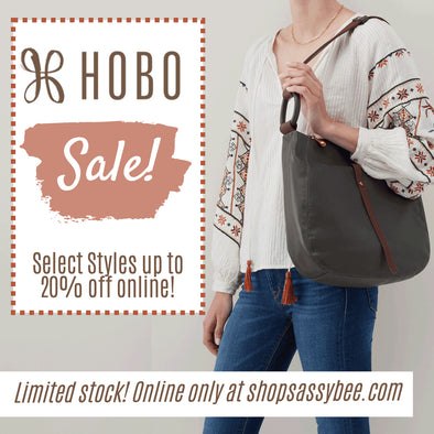 Hobo Sale & New Styles! Check out these limited-stock deals, available online only!