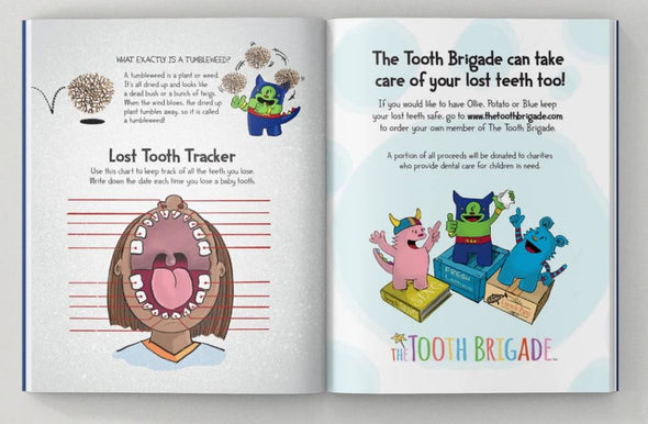 The Adventures of The Tooth Brigade - Hardcover Book