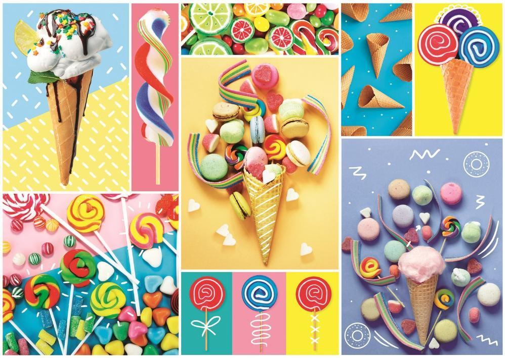 Pz 500 mcx ( 662778 ) Collage Friandises