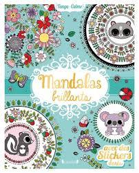 Mandalas brillants avec stickers