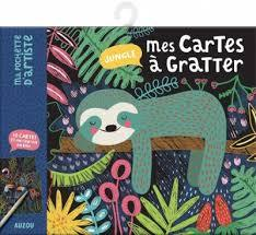 Mes cartes à gratter: Jungle