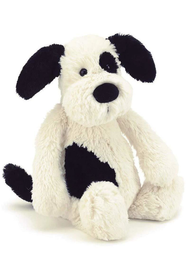 12'' BLACK AND WHITE PUPPY