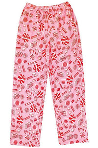 PEPPERMINT CANDY FLEECE PANT