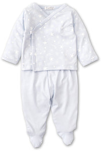 2 PIECE STARRY SKY LAYETTE SET