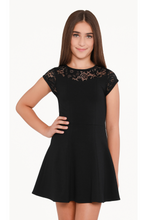 Load image into Gallery viewer, CS LACE SHLDR FNF DRESS