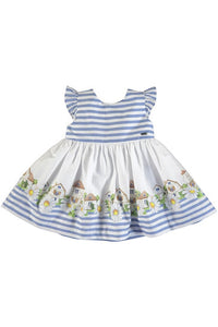 DAISY HOUSE BORDER DRESS