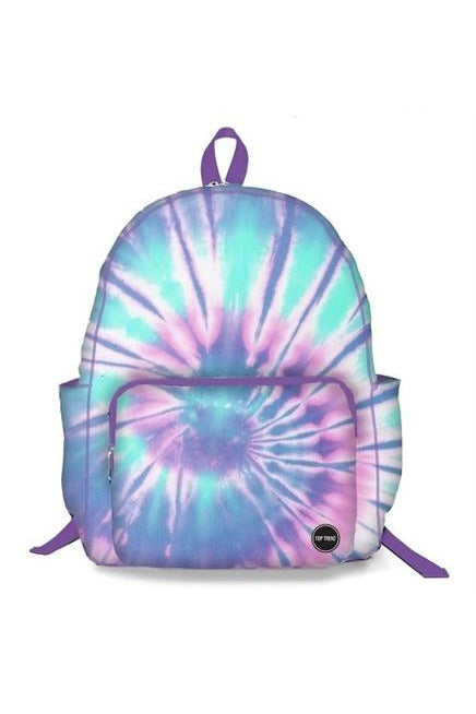ICE TIE DYE CANVAS BACKPACK