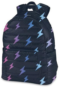 LIGHTNING BOLT PUFFER BACKPACK