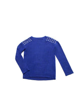Load image into Gallery viewer, STUDDED SHOULDER COZY SWEATER