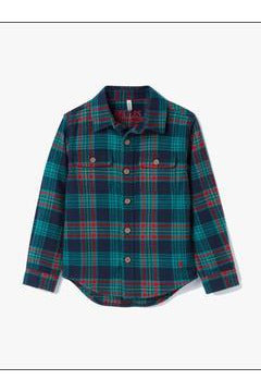 BRUSHED FLANNEL BUTTONDOWN
