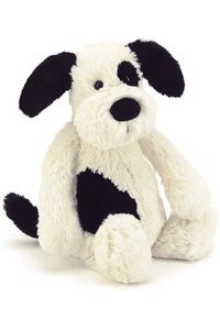 7'' BLACK AND WHITE PUPPY