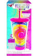 Load image into Gallery viewer, NEON TIE DYE TUMBLER KIT