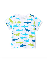 SCATTERED SHARKS TEE