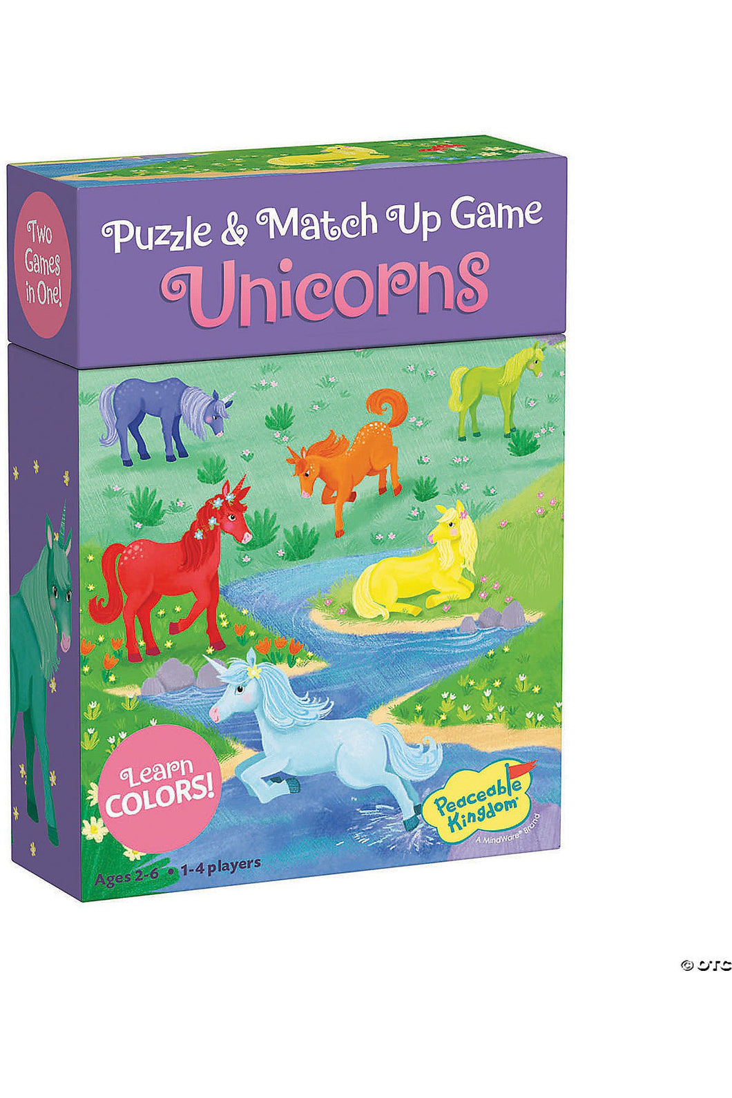 UNICORNS COLOR MATCH GAME (2+)